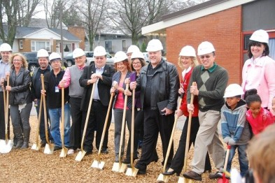 East Elem. Groundbreaking